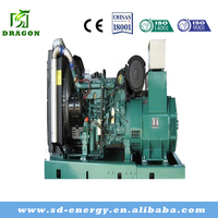 Three phase silent diesel generator set with diesel engine by china supplier