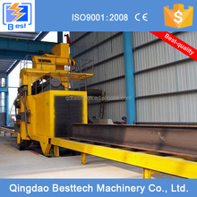 100% new top grade step moving type shot blasting machine