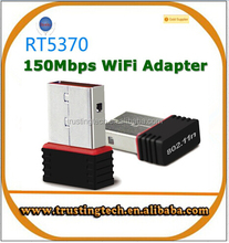 RALINK RT5370 150Mbps Mini Wireless USB WiFi Adapter Wi Fi Ethernet Adaptador Wi-Fi Network LAN Card for Laptop PC