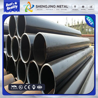Third party inspected erw carbon steel welded tube/pipe manufacturer with great price