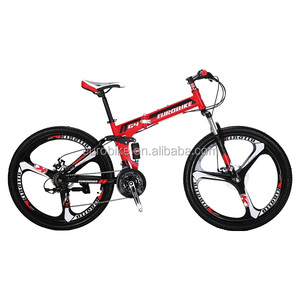 EUROBIKE G4 26 INCH 21 SPEED Folding bicycle Dual SUSPENSION Mountain Bike