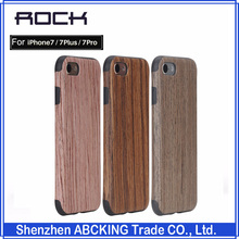 ROCK Original Wooden Case Series Grained Case For Apple iPhone 7/7 Plus/7 Pro