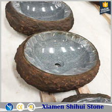 Custom Made Basin Natural Hand Carve Stone Sink