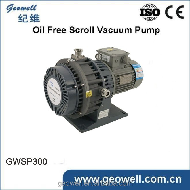 3 stage Pump oilless Vacuum Pump for Vacuum Packing Dry Pump