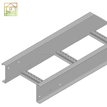 Direct Sales Factory Durable Light Weig Cable Tray Ladder Trunking Wire Mesh Wireway Channel Cable Support System
