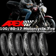 100/80-17 Motorcycle Tire
