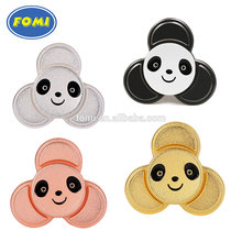 wholesale panda shaped hand toy metal finger spinner