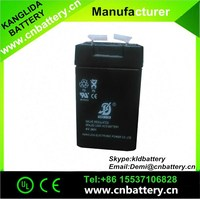2015 hot selling! maintenance free lead acid agm battery 4v2ah,made in China