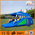 Inflatable inflatable play amusement slides