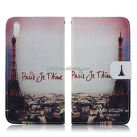Wholesale Stand Wallet Leather Flip Case for Sony Xperia T3