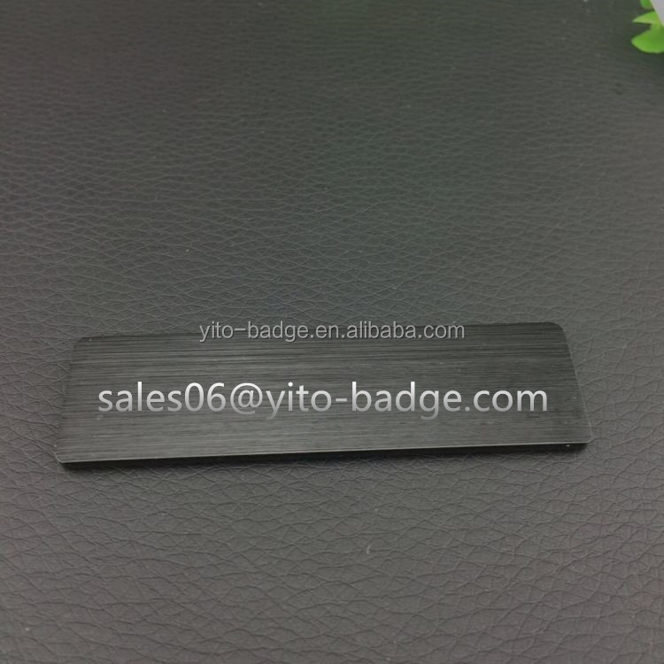 ABS plastic magnet name badge lapel pin badge wholesale magnetic name badge
