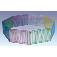 Colorful Eight Panel Metal Pet Pen