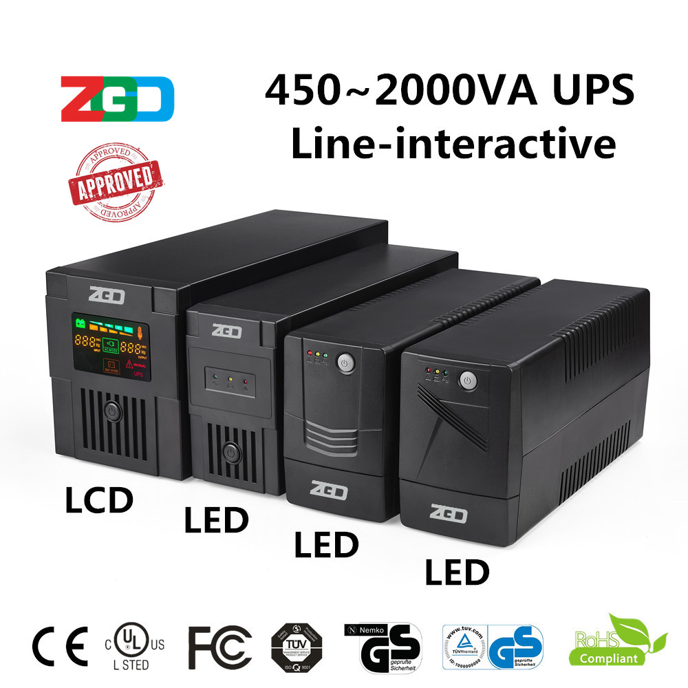 newly-designed hot sell 230vac ups 1000va ISO certificate new line interactive solar ups price