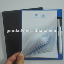 2012 Best sale Low price magnetic shopping list & mark pen for promotion