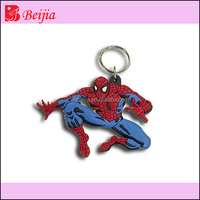 Cartoon characters key ring custom car key fob