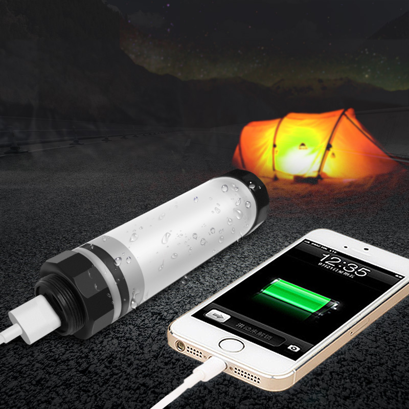 Alibaba Best Portable Rechargeable Mobile Phone Micro-usb LED Flash Light