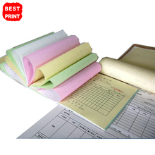Custom Triplicate Invoice Book Printing Manifest Sales Receipt Note Storehouse Docket Receipt Quote Carbonless Book