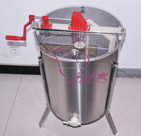 stainless steel manual 4 frames honey extractor