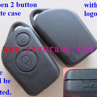 Cit 2 button remote key case without logo (Blade could be inserted)