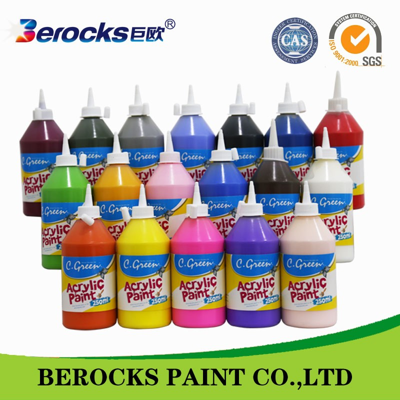 water based non toxic acrylic finger paint/ execellent acrylic paint