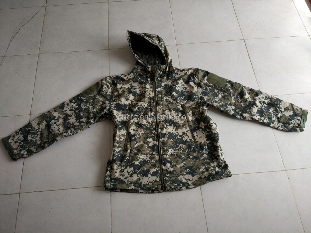 new style men breathable ACU winter military tactical jacket