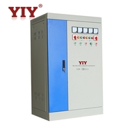 CE approved SBW series 200KVA 250KVA three phase servo motor industrial voltage stabilizer