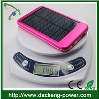 Cheap price 5000mAH mobile solar charger for smartphone