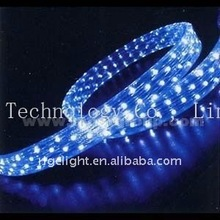 LED flat 2 lines rainbow rope