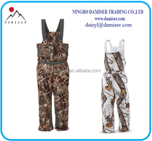 DB04 insulated hunting bib camouflage overalls