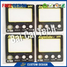 High quality best price custom PVC/PET/PC graphic overlay, membrane switch