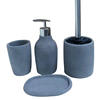 New product beautiful design funny china simply cheap wholesale handmade concrete bathroom accessory sets