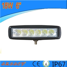 Hot selling 6 inch led driving light 18W led work light led head lamp for all car