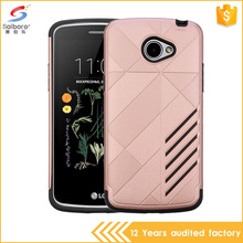 High Quality Armor Design Durable Hybrid Tpu Pc Phone Case for lg k5