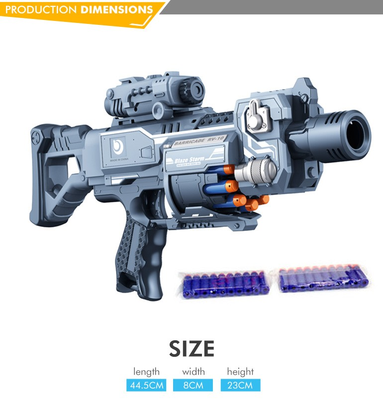 High quality newest products wholesale plastic soft bullet gun sniper