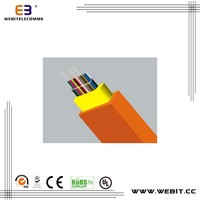 best price,good quality and appearance,Flat Optical-fiber-ribbon Indoor Cable II optical fiber cable