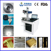 Huahai laser Factory direct 20w fiber laser marking machine price used on metal jewellry