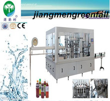 automatic 3 in 1 carbonated beverage processing unit /beverages filling machine/price /production line