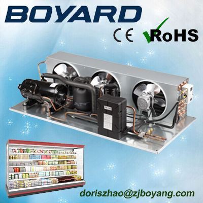 zhejiang boyard <strong>r134a</strong> r404a truck refrigeration unit with horizontal refrigeration <strong>compressor</strong>