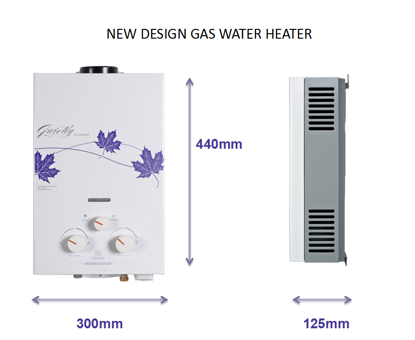 LPG Propane Gas Tankless Instant Hot Gas Water Heater