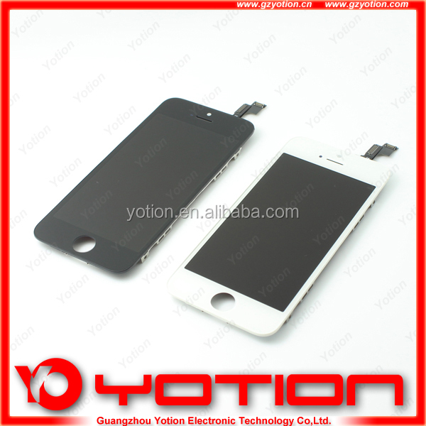 original lcd for apple iphone 5s lcd display with digitizer touch panel screen assembly replacement