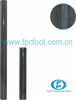 Prosthetics Carbon fiber Tube;artificial limb;connector