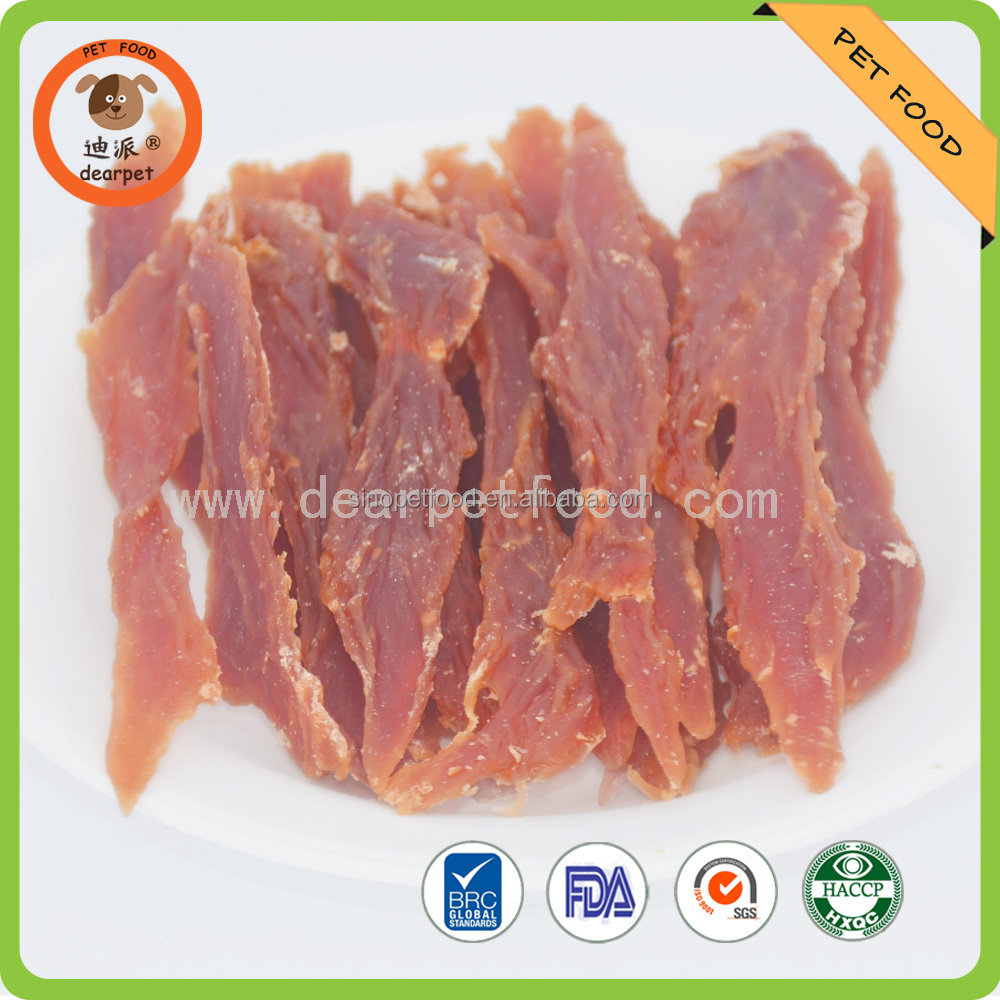 Duck Chicken jerky dog snacks pet food pet treats
