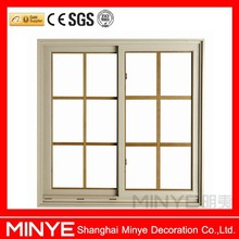 Factory price grilled design Aluminum Sliding Window /China supply aluminum glass window and door