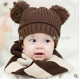 Al por mayor calientes lindos nintilde;os gorros de lana de china 2013 nuevo producto