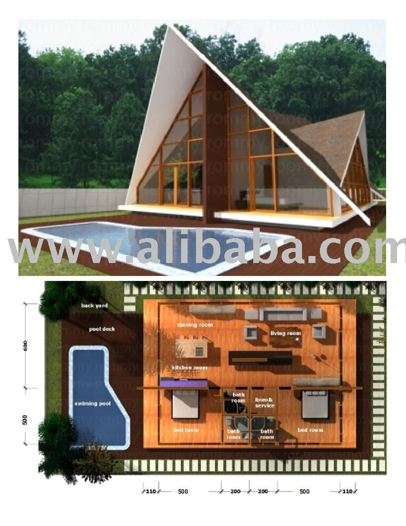 R-160 Wooden house