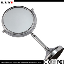 LY-2251 Promotional high quality round double sides desktop pretty vanity makeup smart mirror