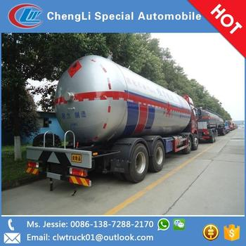 JieFang 30CBM lpg gas transport tanker truck sold in Benin