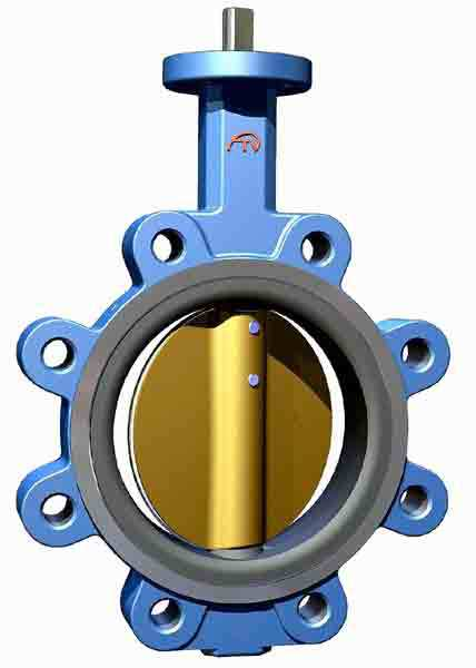 Hot selling fisher 7600 butterfly valve with low price