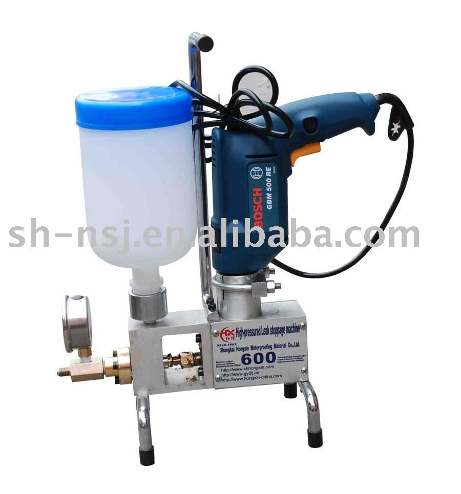 One-component high-pressure concrete injection pump,waterproof injection pump, injecting machine