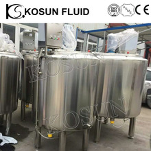100L -500L-1000L stainless steel milk ice cream yogurt pasteurizer